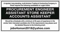 77 Best Oman Jobs images in 2019