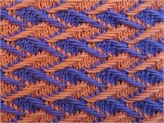 Two colour Jacquards | Video tutorial and detailed written Instructions