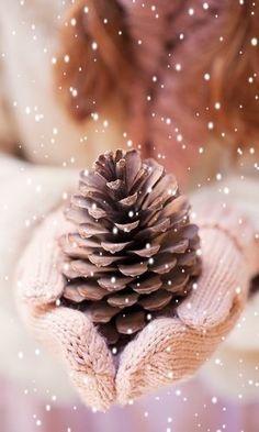 Image via We Heart It Xmas Wallpaper, Christmas Phone Wallpaper, Winter Wallpaper, Christmas Wallpapers Tumblr, Cute Wallpapers, Christmas Mood, Pink Christmas, Natural Christmas, Christmas Ideas