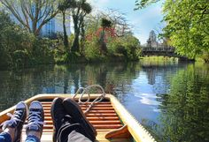 Snuck on a couple beers on our gondola ride along the Avon River in Christchurch, New Zealand  Click the link to be redirected to my blog - Natural Wonders of NZ