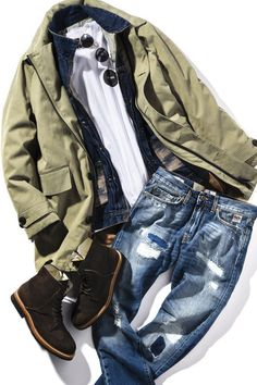New Outfits, Casual Outfits, Best Shopping Sites, Outdoor Men, Mens Gear, Gentleman Style, Men Looks, Fashion Details, Well Dressed