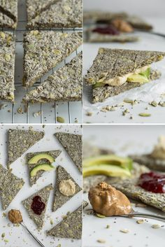 Super Power Chia Bread (gluten free and vegan) Raw Food Recipes, Cooking Recipes, Healthy Recipes, Yummy Recipes, Vegan Snacks, Healthy Snacks, Healthy Breakfasts, Vegan Gluten Free, Gluten Free Recipes