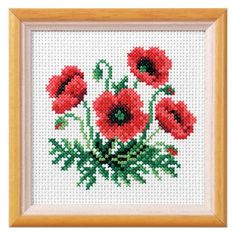 Orchidea Poppy Cross Stitch Kit  | eBay