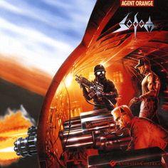 Sodom - Agent Orange (animated cover GIF)  #sodom #agentorange #thrashmetal #speedmetal #truemetal #blackmetal #metal #metalheads #animatedcovers #animatedalbum #covergifs #gif #TomAngelripper #Angelripper