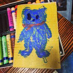 Bear/ drawing/ illustrate