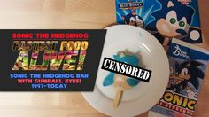 Fastest Food Alive: Unwrapping the Sonic the Hedgehog Ice Cream Bar with Gumball Eyes - https://www.youtube.com/watch?v=yFfobIX4BC4 Fastest Food Alive returns with one of the most popular Sonic the Hedgehog food products of all time. That's right, it's Blue Bunny's Sonic bar with GUMBALL EYES! Quit reading and watch as we unwrap this famous Sonic foodstuff,... https://www.sonicretro.org/2017/02/fastest-food-alive-unwrapping-sonic-hedgehog-ice-cream-bar-gumba
