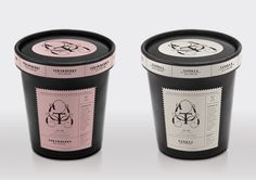 Ticino Ice Cream Packaging by Shon Tanner
