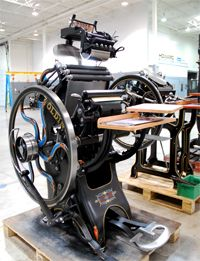 Welcome to Howard Iron Works - Printing Museum and Antique Printing Machinery Restoration