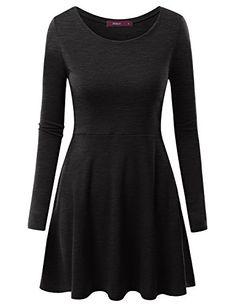 Doublju Women Long Sleeve Versatile Drape Short Dress CHARCOAL,2XL Doublju http://www.amazon.com/dp/B017IOBQ4O/ref=cm_sw_r_pi_dp_1evLwb1X88DJS