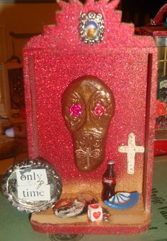 only time mini shrine by catrinacreations on Etsy, $11.00