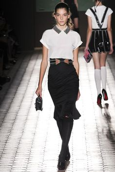 Catwalk photos and all the looks from Olympia Le Tan Spring/Summer 2015 Ready-To-Wear Paris Fashion Week