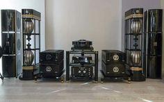 High end audio audiophile MBL set up