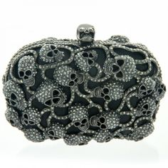 #bansriaccessories #clutch #studded #black #silver #feminine #design #inspired #beautiful #amazing #pretty #unique