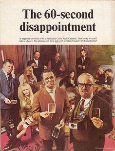 インスタグラムも敵わない?素敵すぎる昔のカメラの広告たち