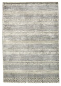 Delta Wool and Viscose Area Rug in Dolomite design by Calvin Klein Home