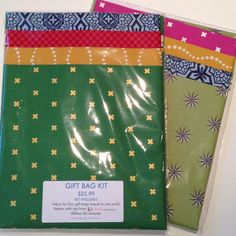 Gift Bag Kit | Fabric Spark