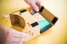 How to make Google's Cardboard VR headset!