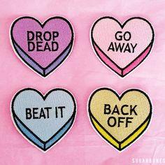 No conversation heart patches - Thumbnail 5