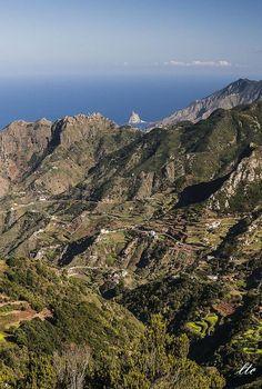 Macizo de Anaga, Tenerife - España.