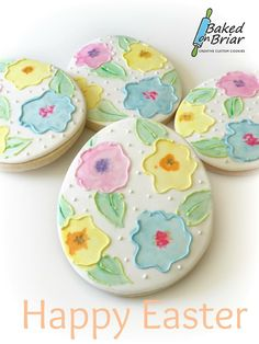 Easter cookies by Baked on Briar