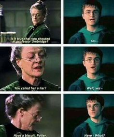 Lol I love McGonagall