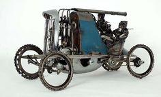 Just a Car Guy: James Corbett car parts sculptures