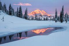 The Noblest Mountain Mount Rainier  #landscape #noblest #mountain #mount #rainier #photography