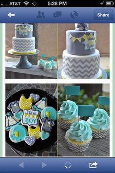 Baby BOY Shower Colors