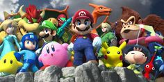 20 years ago this month, the original Super Smash Bros.launched for Nintendo 64 in North America. It hardly needs to be stated how important that game would prove to be for Nintendo's fortunes Nintendo 3ds, Super Nintendo, Nintendo Switch, Super Smash Bros, Super Mario Bros, School Bags For Kids, Kids Bags, Donkey Kong, Metroid