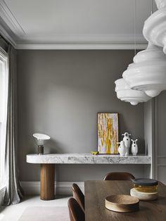 Home Decor Kitchen 2020 AIDA Residential Design Shortlist: Six Standout Projects Australian Interior Design, Interior Design Awards, Gray Interior, Interior Design Studio, Old Fireplace, Decor Logo, Dining Nook, Dining Table, Design Blog