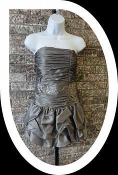 Silver Tiered Dress