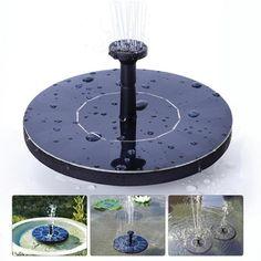 $16.61 AUD - Solar Panel Water Feature Floating Pump Fountains Pool Pond Garden Bird Bath Jw #ebay #Home & Garden