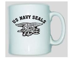 Tasse US Navy Seals II / mehr Infos auf: www.Guntia-Militaria-Shop.de