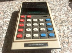 Vintage, Commodore Electronic Calculator, GL979D, Vintage, 1975, 1970s, Calculator by ukVintageDeco on Etsy