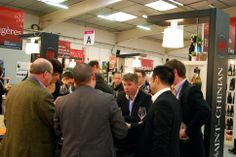 Busy day tasting with clients at #ViniSud.