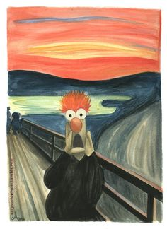 "Muppets ""Scream"" parody"