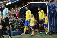 Zlatan Ibrahimovic of Sweden before the international friendly between Sweden and Wales at Friends Arena on June 5, 2016 in Solna, Sweden.
