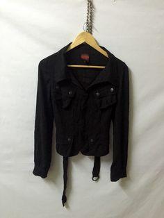 A personal favourite from my Etsy shop https://www.etsy.com/listing/398908483/jean-paul-gaultier-black-zipper-hidden