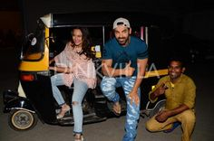 Auto ride anyone? John and Sonakshi promote Force 2 in style! | PINKVILLA