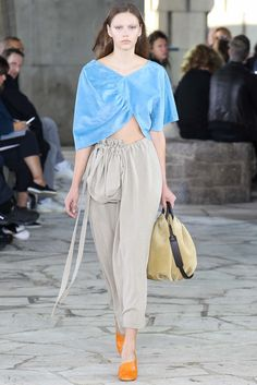 Loewe, S.A. spring 2015 ready to wear collection.
