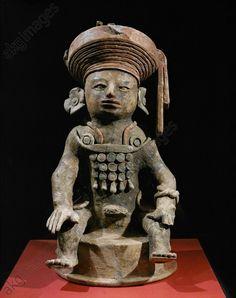 Maya / Censer from Copan / Maya culture. Late classical 7th century AD.