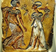 wall decoration - Tut and his wife