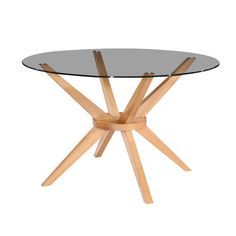Beech Kobe Round Dining Table