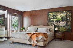 Красочная как сама Бразилия: квартира холостяка с видом на пляж Ипанема   Пуфик - блог о дизайне интерьера