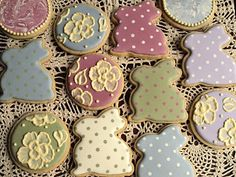 Pretty Easter cookies from Sweet Ambs blog