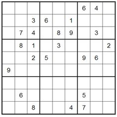 Time for Sudoku...! play this puzzle online at: http://www.livesudoku.com/en/sudoku.php?puzzle=975084