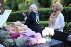 Muslim students in US universities have been organizing Hijab days so their fellow students can support them!
