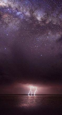 Milky Way above Kati-Thanda-Lake Eyre National Park in South Australia