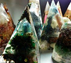 Orgonite Pyramids and Cones! www.komacorgonite.com