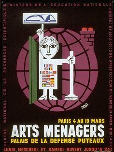 Salons des Arts ménagers - Les Arts Décoratifs - Site officiel